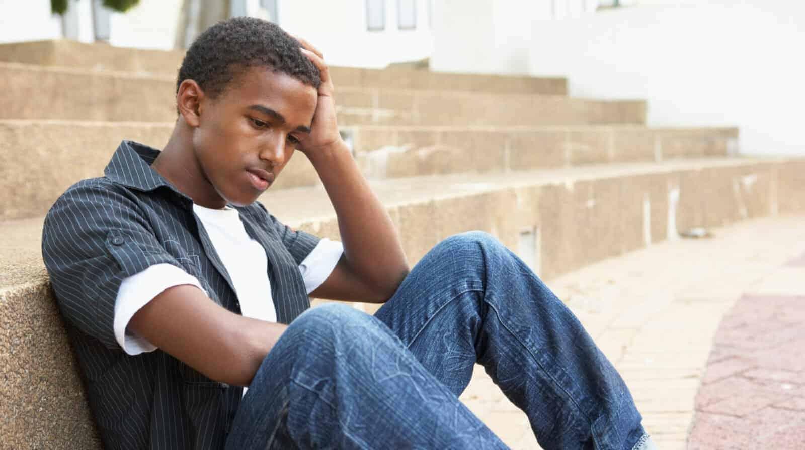 Male College Student Depression